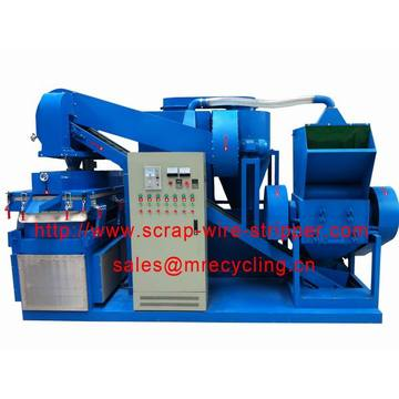 Scrap Copper Cable Wire Stripping Equipment