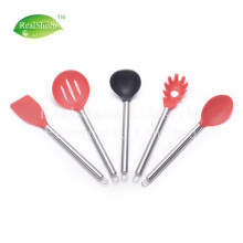 Professional Stainless steel handle Silicone kitchen tools
