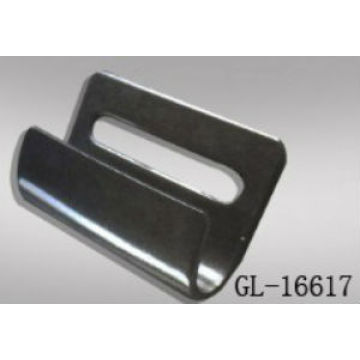 Curtain Side Hook Strap Flat Bottom