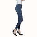 Slimming Lifting HIPS Small Feet with Holes Ladies Jeans