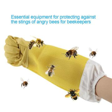 Hot Sale Beekeeping Gloves Goatskin Bee Keeping With Vented Beekeeper Long Sleeves hight quality beekeeping equipment tools L*5