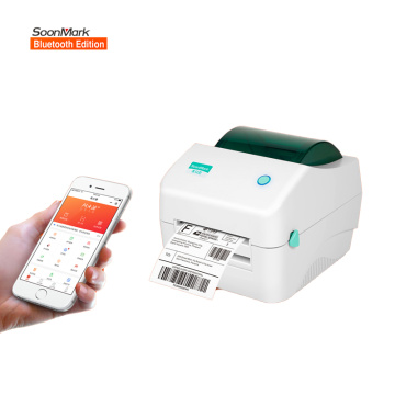 4 inch bluetooth barcode shipping label printer 4x6
