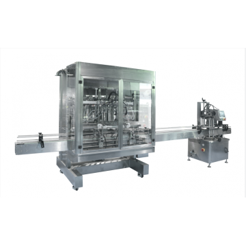 Eight-channel automatic filling and capping machine