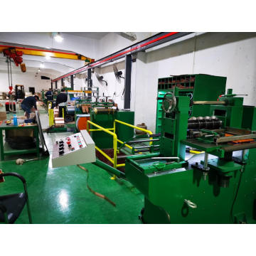 Precision metal split slitting machine