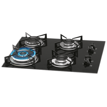 4 Burner Fischer Cooktop Triple Flame Cooker