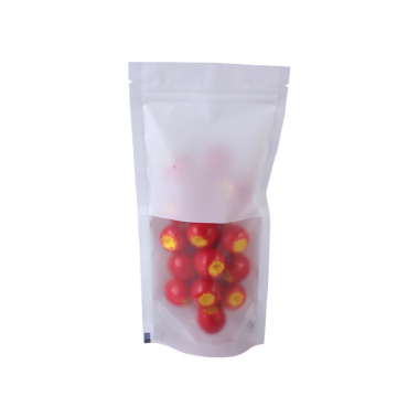 Plastic Stand Up Pouch with Zipper