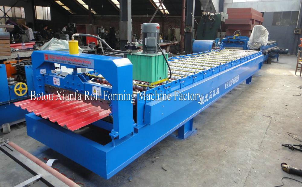Factory Outlet Latest Popular Russia Special Colored Steel Roll Forming Machine