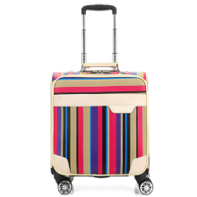 Board airport pu leather suitcase luggage