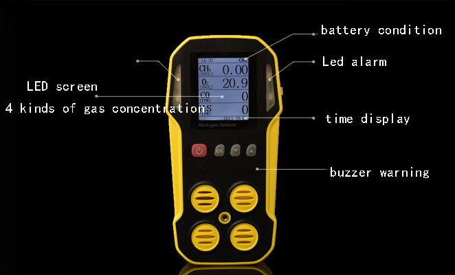 ALL-IN-ONE Gas Detector Gas Detector