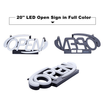 20'' RGB LED Open Sign Business Signs