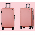 Aluminum frame TSA lock airplane wheels luggage
