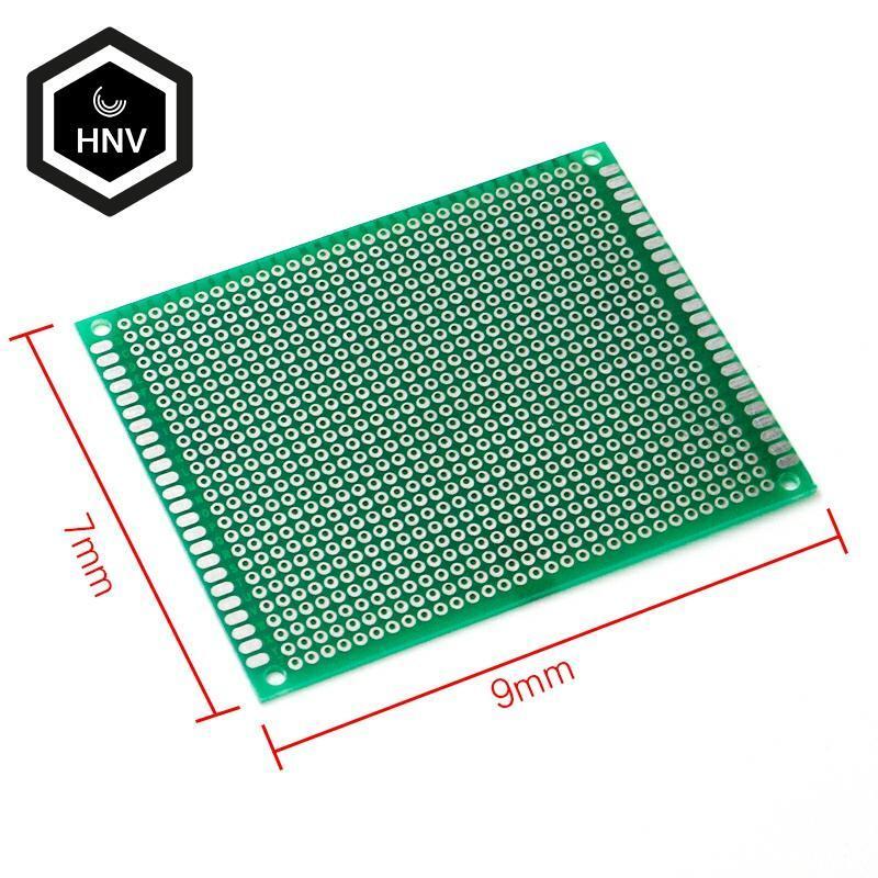 2pcs 7x9cm single Side Prototype PCB Universal Printed Circuit Board