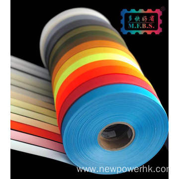 White seam sealing tape for premium outdoor clothing