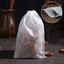 100Pcs/Lot Teabags 6 X 8CM Empty Scented Tea Bags With String Heal Seal Filter Paper for Herb Loose Tea Brew