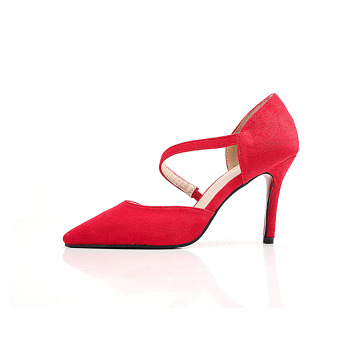 Pointed Toe Rubber Pumps Shoes for Women