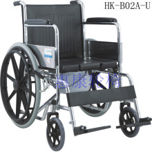 Ordinary rehabilitation stainless steel wheelchair