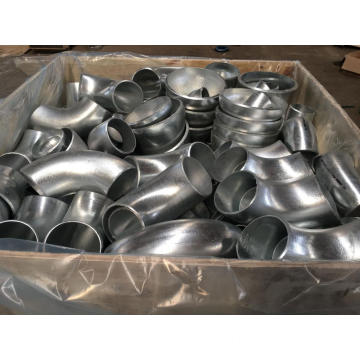 DN80 long radius galvanized pipe elbow