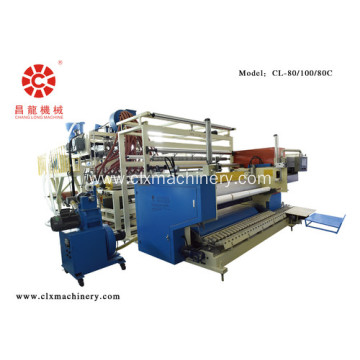 Ang LLDPE Film Stretch Wrapping Extruder