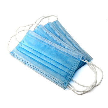 Protective Disposable Face Mask 3ply Non-Woven