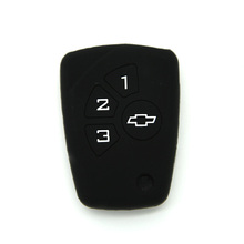 Për Chevrolet 3 Button Key Car Cover Silicone