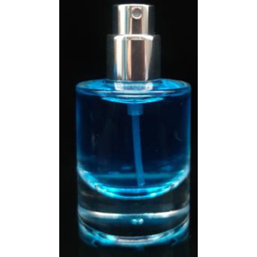 20ml Elegant Cylinder-shaped Empty Glass Perfume Bottle
