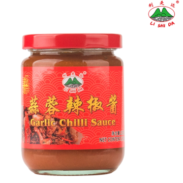 230g glass canned garlic chili sauce
