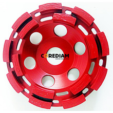 115mm Double Row Cup Wheel