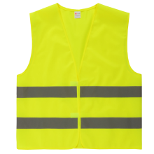 Hot sell polyester wholesale reflective warning vest
