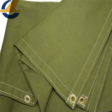 Dustproof silicone coated polyester tarp