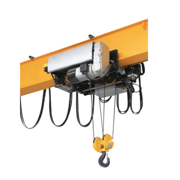 European electric hoist bridge crane 3 ton