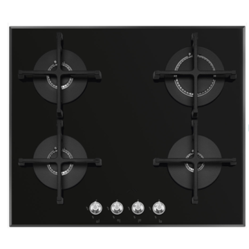 Smeg 4 Burner Gas Hob Tempered Glass