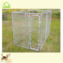 Outdoor steel silver dog kennel for wholesale