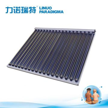 CPC evacuated tube solar collector