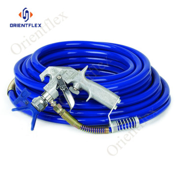 Airless 1/4 thermoplastic paint spray hose 500bar