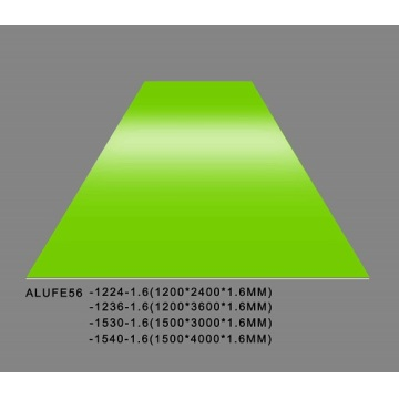 Feve Gloss Spring Green Aluminium Sheet