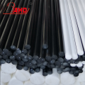 Engineering black white delrin pom plastic rod