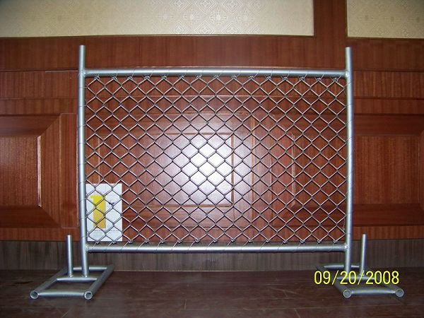 Factory Removable Galvanized Wire Metal Safety Barrier
