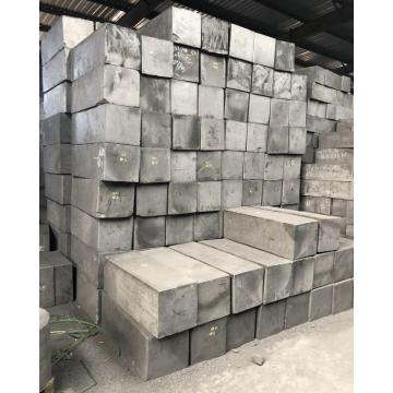 Large size isostatic pressed graphite block