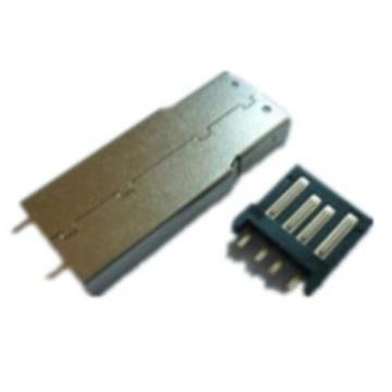 USB A Type Plug Solder With Wrist Type
