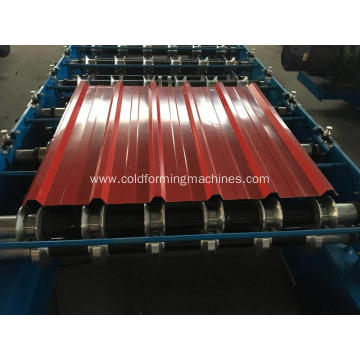IBRR metal roof panel roofing sheet manufacturing machine