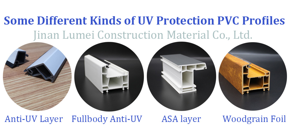 Different UV Protection Profiles