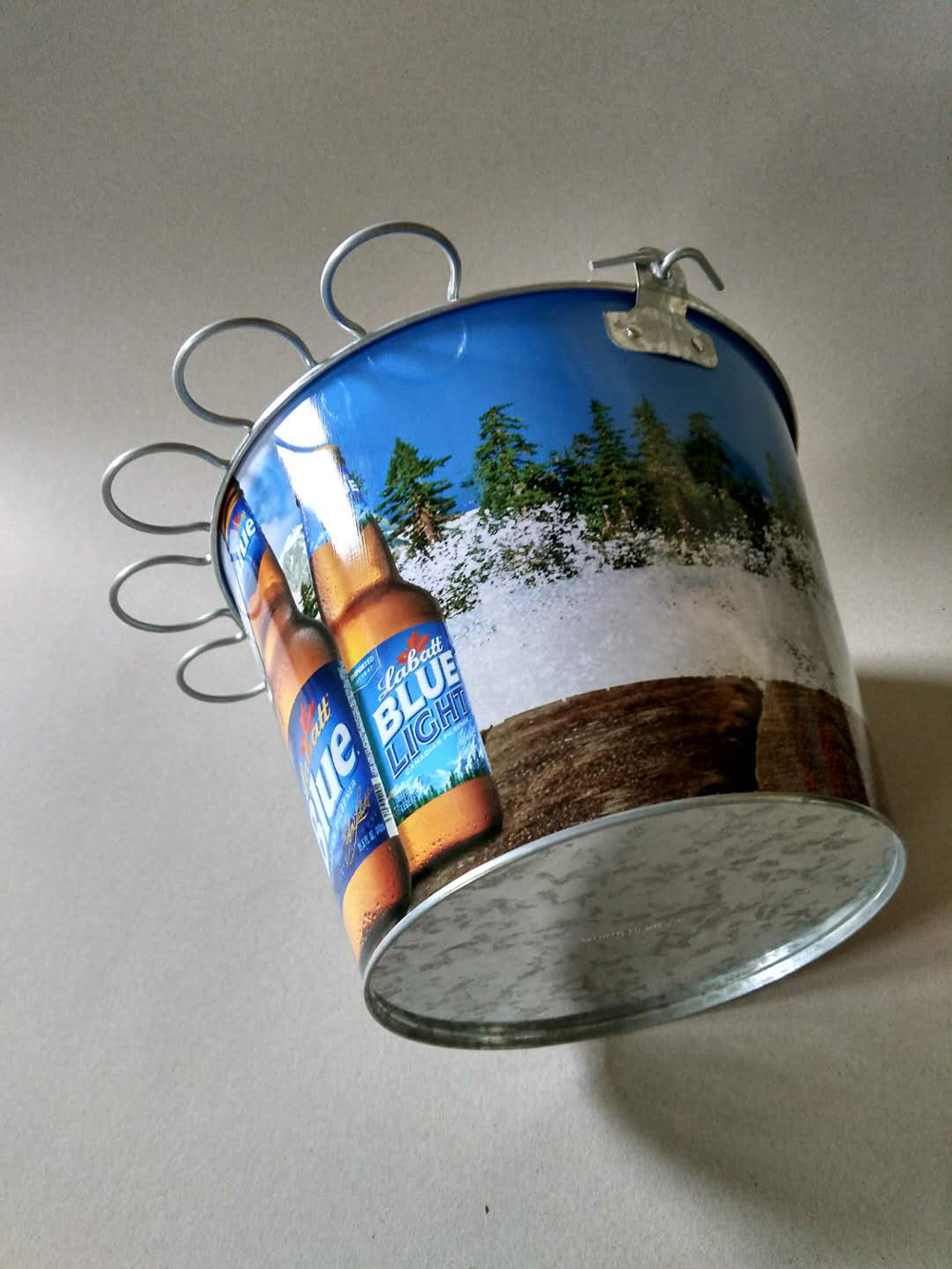 Metal ice bucket on Sale