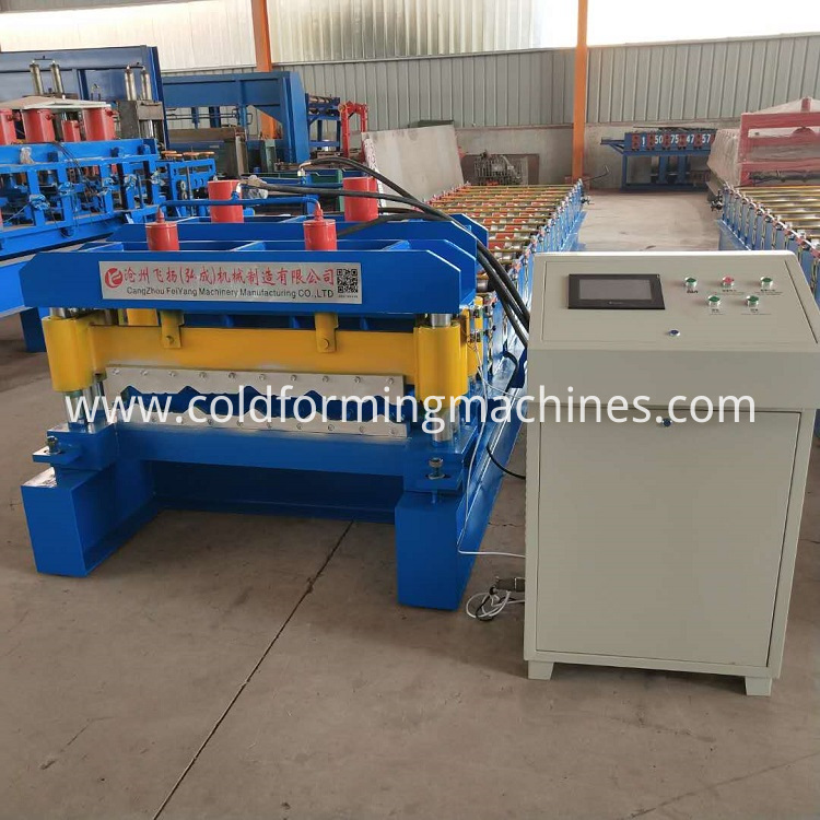glazed tile roll forming machine 2