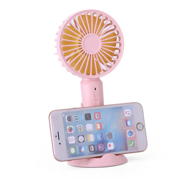 Rechargeable Battery Handheld Mini Fan For Computer