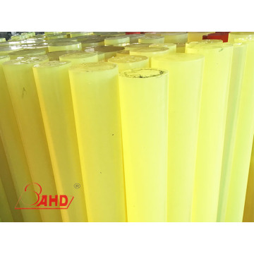 Cast Natural PU Polyurethane Rubber Rod