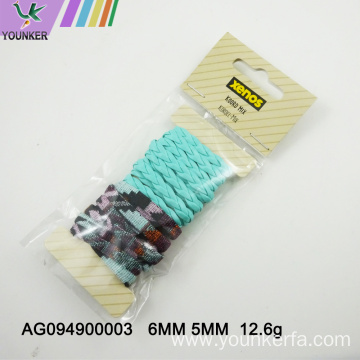Mixed color Imitation PU Leather Cord for DIY