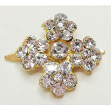 Gold Rhinestone Shoe Clips for High Heel Dancing
