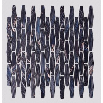 KTV Bar Black Glass Mosaic Tile Decoration
