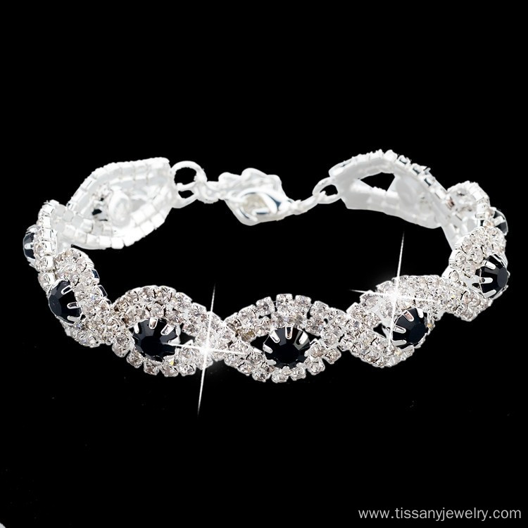 Luxury Wedding Austrian Crystal Bracelets For Women