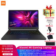 Original Xiaomi Mi Game Laptop 15.6 inch Intel Core i5-9300H 8G DDR4 2666MHz 512GB PCIe SSD GTX1660Ti 6GB GDDR6 Gaming Notebook